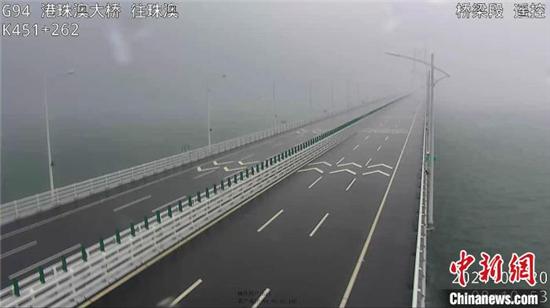 """星辉注册:受台风""""查帕卡""""影响 港珠澳大桥桥梁航道临时封闭(图1)"""